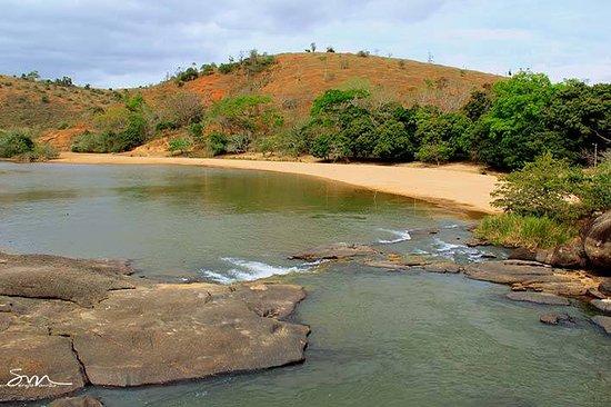 "Teofilo Otoni, MG: Cachoeira da Alemoa-""Antonio Berilo""-Praia do Rio Mucuri"