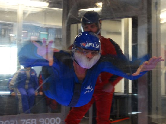 iFLY Indoor Skydiving - Denver: First time flight