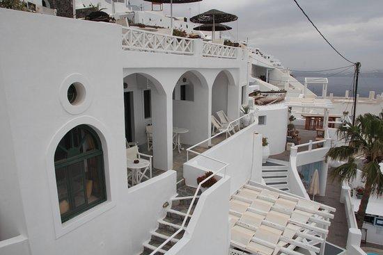 Dana Villas: View from room