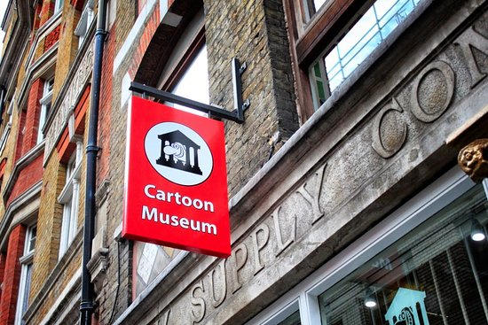 Review Of The Cartoon Museum - YouTube