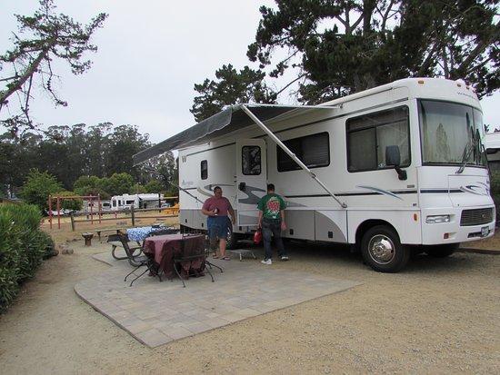 La Selva Beach, Kalifornien: Great Campsites