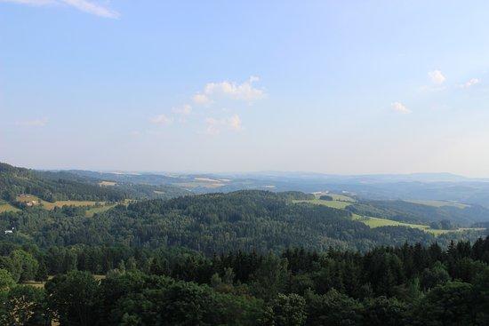 Korenov, República Tcheca: výhled z rozhledny