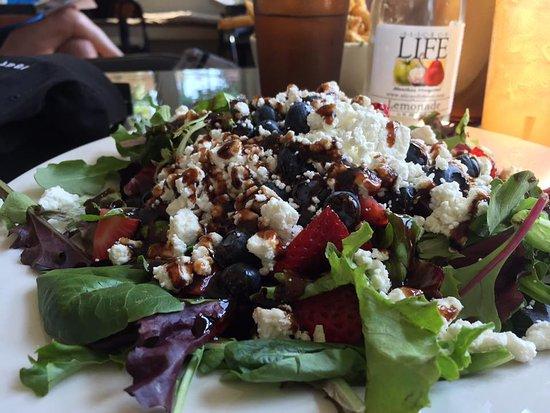 Oak Bluffs, MA: red white and blue salad
