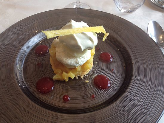 Charly-Sur-Marne, Francia: Ananas confit