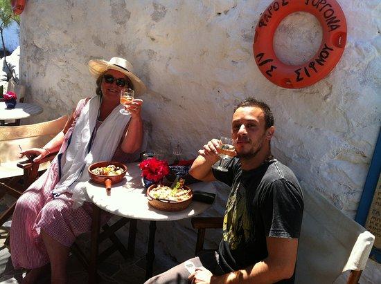 Faros, Grækenland: A moment!