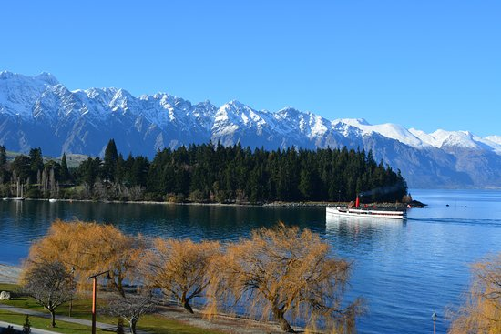Rydges Lakeland Resort Hotel Queenstown: View on a gorgeous clear day