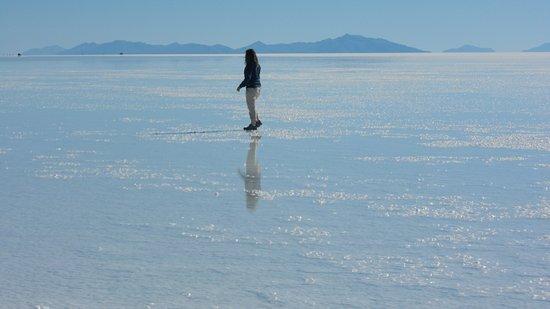 Uyuni, Bolívia: os reflexos  do salar