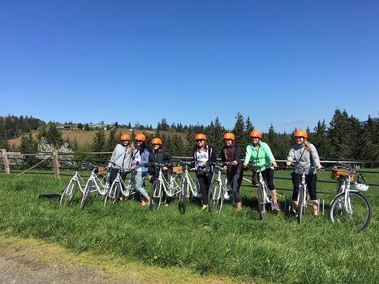 Hood River, OR: Wine tasting bike tours