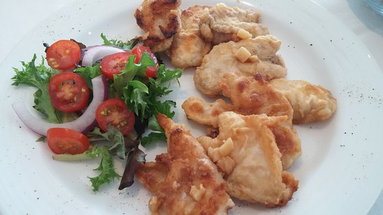 Portugal Cove, Kanada: Cod tongues with scrunchions