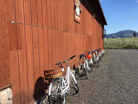 Hood River, OR: MNL Tour Stop at Marchesi Vineyards