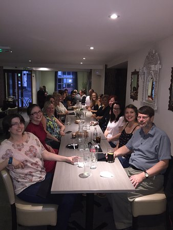 Hinckley, UK: Jayne's Leaving Party All the best #TeamSilchar