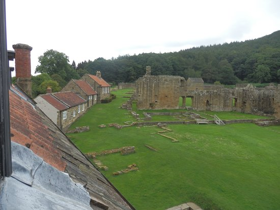 Northallerton, UK: A view of the ruins from the house.