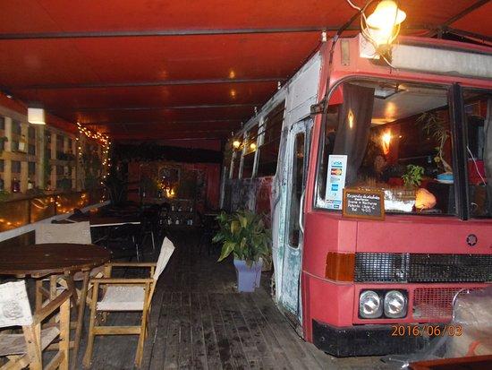 San Francisco de Mostazal, Chile: MicroBar Restoran, Un viaje diferente!