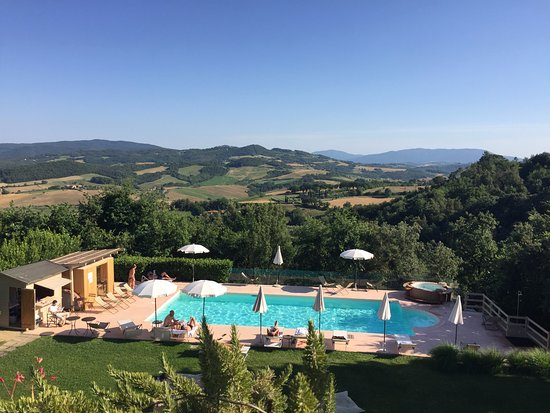 Hotel Terre di Casole: View from the terrace... Bellissimo!
