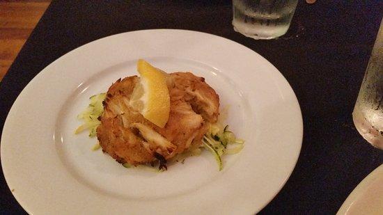 Staunton, VA: crab cake
