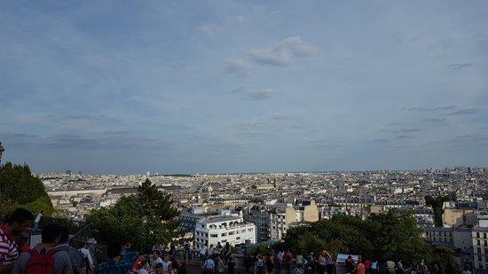 Basilique du Sacré-Cœur de Montmartre : Vista
