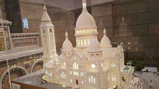 Basilique du Sacré-Cœur de Montmartre : Maquete