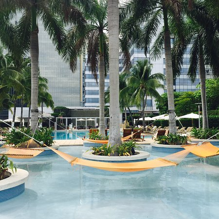 Four Seasons Hotel Miami: hammocks