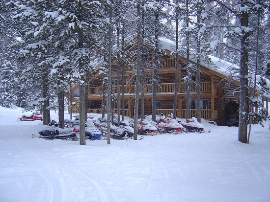 Skyline Guest Ranch and Guide Service: In the midst of a Winter Wonderland