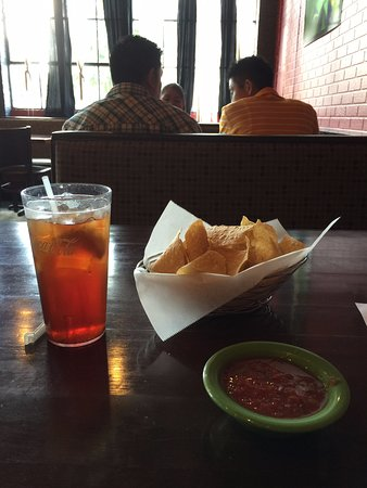Glasgow, KY: Lightest warm chips and Salsa with texture and flavor, not the thin stuff!