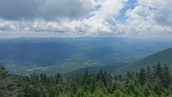 Arlington, VT: View from Saint Bruno viewing center