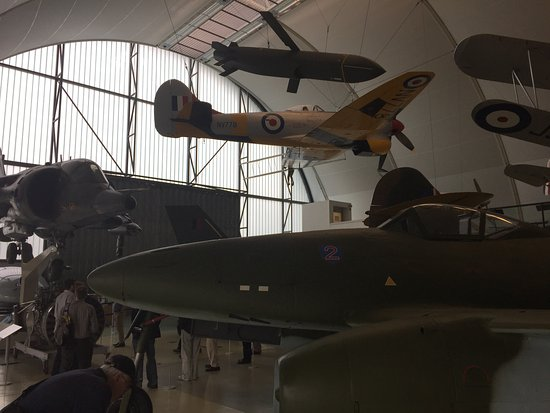 The Royal Air Force Museum London: Me262, Hawker Typhoon and Cruise Missile