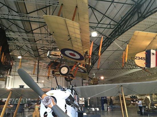 The Royal Air Force Museum London: WW1 planes