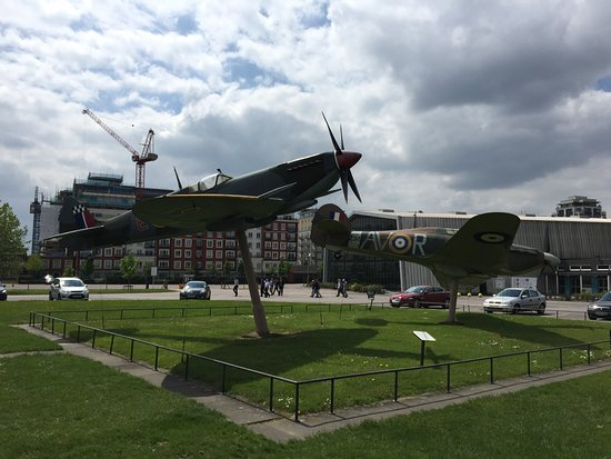 The Royal Air Force Museum London: Spitfire and Hurricane