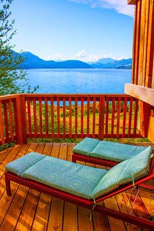 Sechelt, Canadá: Cabin Deck
