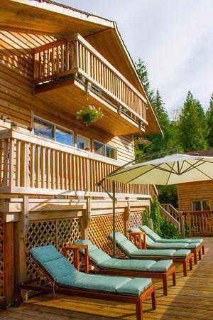 Sechelt, Canada: Cabin Deck