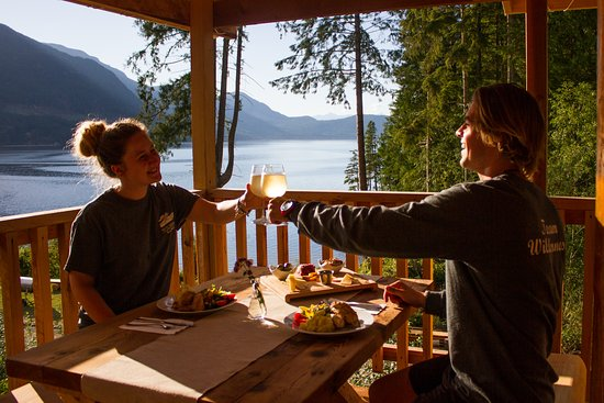 Sechelt, Canada: Romantic Dining