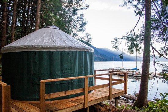 Sechelt, Canada: Ocean View Yurts