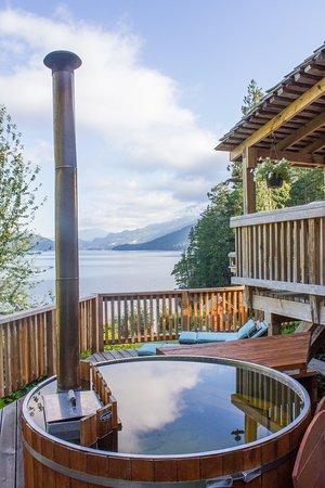 Sechelt, Canada: Cabin Hot Tubs
