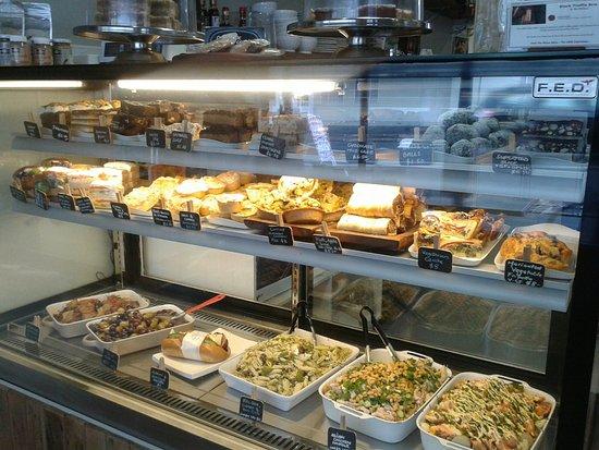 Paeroa, Selandia Baru: Savouries cabinet