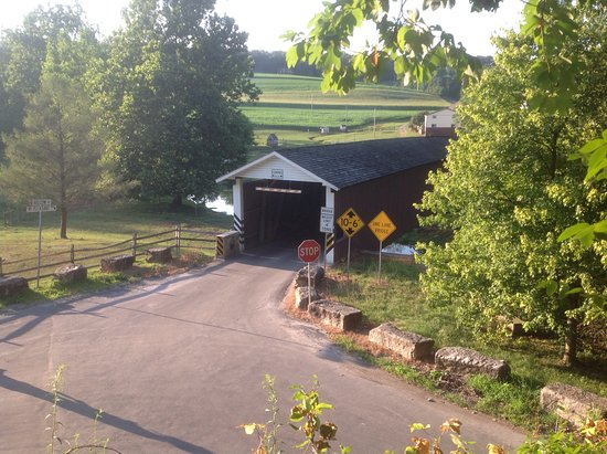 Strasburg, Pensilvania: Covered bridge