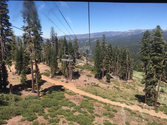 Truckee, CA: Northstar California is a great place to hike or mountain bike in the summer months.
