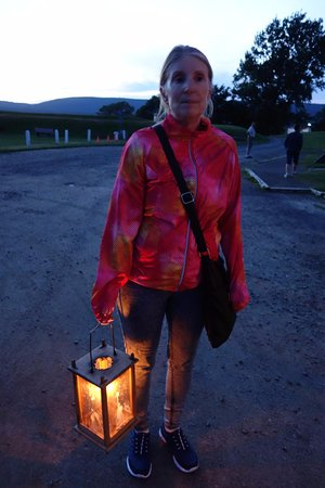 Annapolis Royal Candlelight Graveyard Tour: Arriving at Fort Anne