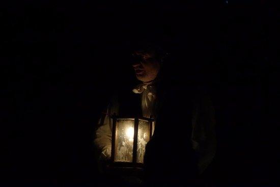 Annapolis Royal Candlelight Graveyard Tour: The tales begin
