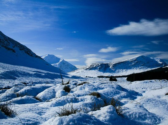 Crianlarich, UK: Ben Lui is a 10 minute drive from Glenbruar