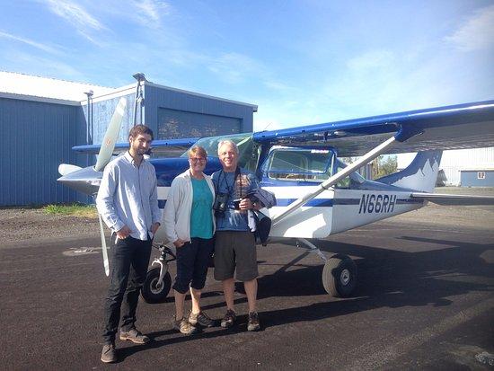 Glennallen, AK: Plane and Pilot