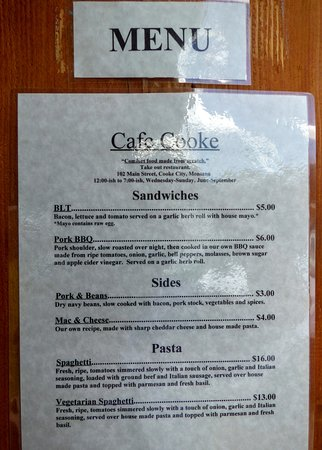 Cooke City, MT : The BLT was big, and tasty. And only $5!