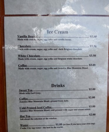 Cooke City, MT : If there is ice cream available, get it. GET IT, no questions asked.
