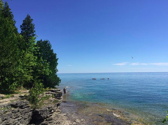 Sturgeon Bay, WI: Awesome views like these abound