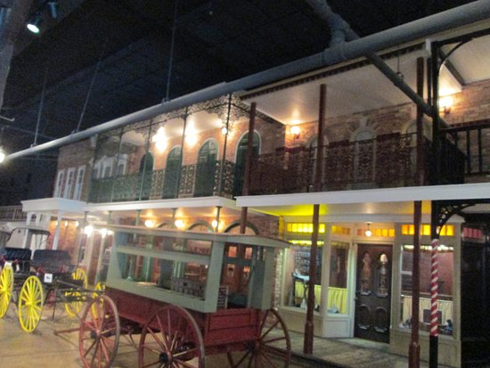 Historic Pensacola Village: Historic Village - Museum of Commerce: Reproductions of real stores