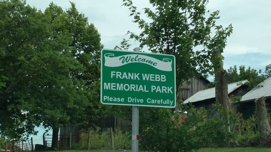 Williamstown, KY: Park marker