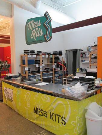 Pensacola MESS Hall : Don't miss the MESS Kits! There are dozens to check out!