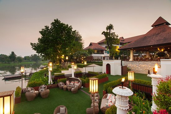 Ratilanna Riverside Spa Resort Chiang Mai: Ratilanna Pier
