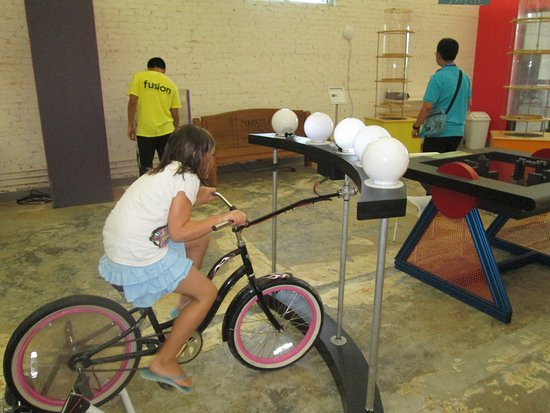 Pensacola MESS Hall : Pedal Power!