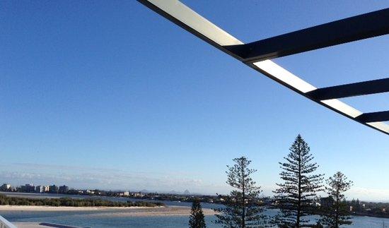 Caloundra, Australia: View from my balcony