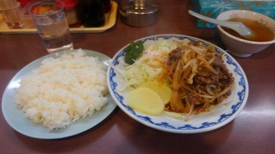 Ibaraki, Japan: スタミナ定食